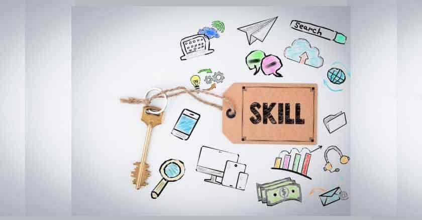 key skills for job hindi